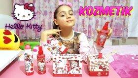 Hello Kitty Kozmetik Ürünlerini Denedik Test Ettik Hepsi Çok Güzel!!