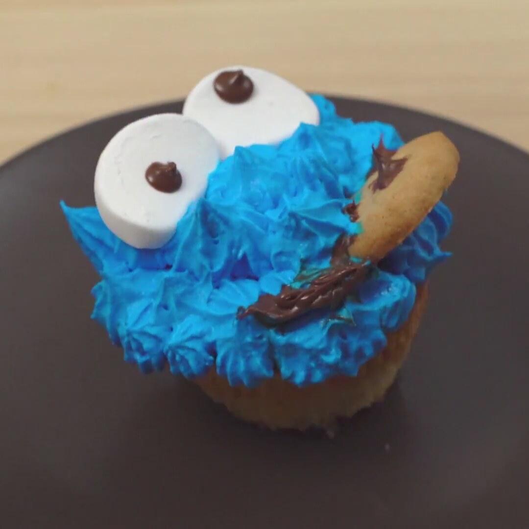 Kurabiye Canavarı Muffin Tarifi