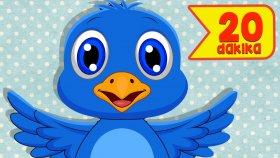Mini Mini Bir Kuş Donmuştu | 20 Dakika Çocuk Şarkısı | En Güzel Şarkılar