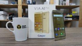 Casper Vıa A1 Plus Kutusundan Çıkıyor - 5000 Mah Batarya Ve 128 Gb Hafıza!