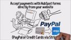 HubSpot Shopping Cart Integration Accept Payments Using Your HubSpot Forms
