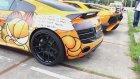 Audi R8 V10 Motor Sesi ile Sokaklar Yankılanıyor