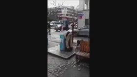 Çöpe Düşen Suriyeli