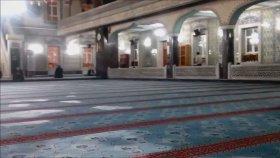 Elazığ İzzet Paşa Camii İç Kısmı Görüntüleri ( Yatsı Namazı Öncesi)