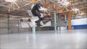 İnsan Kontrollü Dünyanın İlk Hoverbike'ı (Motosikleti)