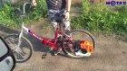 Ağaç Kesme Motorunu Bisiklete Takmak
