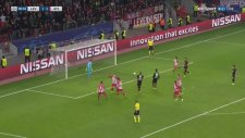 Bayer Leverkusen 2-4 Atletico Madrid (Maç Özeti - 21 Şubat 2017)