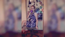 Looner Balloon Fetish Girl Blow & Sit To Pop (Edited Short Video For YouTube) Clips4sale