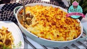 Fırında Makarna Tarifi (Kıymalı, Etli veya Tavuklu Yapabilirsiniz) Ayşenur Altan Yemek Tarifleri