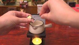 Minyatür Malzemelerle Soslu Makarna Yapımı