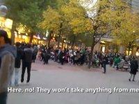 Şeriat Yürüyüşü Görünce Panikleyen Almanlar