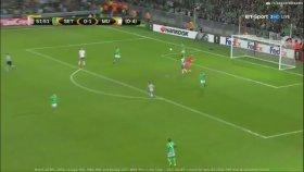 Saint-Etienne 0-1 Manchester United (Maç Özeti - 22 Şubat 2017)