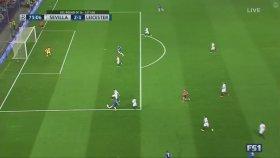 Sevilla 2-1 Leicester (Maç Özeti - 22 Şubat 2017)