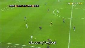 Beşiktaş 2-1 Hapoel Beer Sheva (Maç Özeti - 23 Şubat 2017)