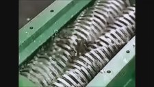 Bulduğu Herşeyi Parçalayan Metal Öğütücü Makinası