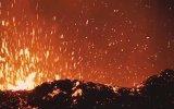 Drone İle Görüntülenen Volkanik Patlama