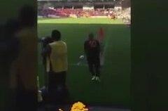Wesley Sneijder ile Taraftar Arasında Ki Diyalog