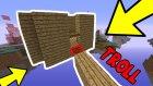 Minecraft'ta Tuzak Kapısı Troll!
