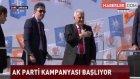 Başbakan Yıldırım Ankara Arena Önündeki Partililere Seslendi