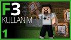 F3 Ekranı Komutları ve F3 Kısayolları - Minecraft Komutları - 1