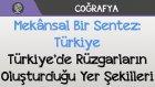 Mekânsal Bir Sentez: Türkiye - Türkiye'de Rüzgarların Oluşturduğu Yer Şekilleri