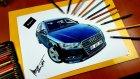 Araba Çizimi | Audi A3