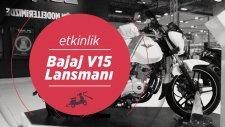 Bajaj V15 Lansmanı   Bajaj Vikrant   Motobike İstanbul 2017