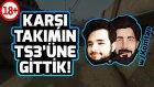 CS:GO Rekabetçi #3 | [w/ Glaxy]  - Karşı Takımdaki Türklerin TS3'üne Gittik! [KÜFÜR İÇERİR +18]