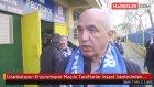 İstanbulspor-Erzurumspor Maçını Taraftarlar İnşaat İskelesinden İzledi