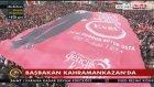 Kahramankazan'da Dikkat Çeken Dev Erdoğan Pankartı