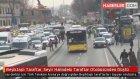 Beşiktaşlı Taraftar, Seyir Halindeki Taraftar Otobüsünden Düştü