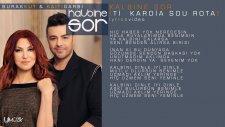 Burak Kut & Kaiti Garbi -  Kalbine Sor (Ti Kardia) - Official Lyrics Video