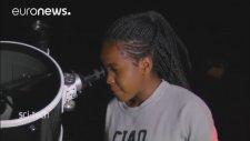 Gezgin Teleskop ile Astronomi Afrikalı Çocukların Ayağında