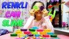 Renkli Şeffaf Cam Slime Kutuları Bulduk Kristal Kumla Karıştırdık Süper Oldular | Slime Çorbası
