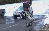 Teke Tekte Tekinsiz Tek Tekerli Robot
