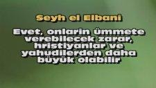 KAFİR EL-BANİ KAFİR İHVANI MÜSLİMİN İÇİN YAHUDİLERDEN NASRANİLERDEN DAHA TEHLİKELİDİRLER DİYOR