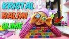 Göz Şeklinde Hazır Renkli Kristal Slime! Pipetle Balon Gibi Şişiyor | Yeni Slime Çorbası