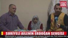 Doğan Üçüzlerine Recep Tayyip Erdoğan Adı Koyan Suriyeli Aile