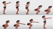 Evde Yapılabilecek 10 Squat Hareketi - Kadınova