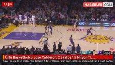 Ünlü Basketbolcu Jose Calderon, 2 Saatte 1.5 Milyon TL Kazandı
