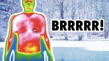 Üşüyünce Vücudumuz Termal Kamerada Nasıl Görünür? | Soğukta Çıplak Bir Melih