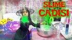 Kötü Cadı Slimer Dev Kazanda Kocaman Büyülü Slime Yapıyor