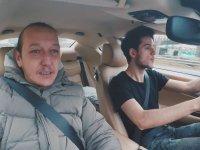 Maserati ile Taksicilik Yapmak