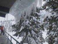 Buz Sarkıtlarının Temizlenme Anı