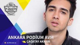 Çağatay Akman - Ankara Podium AVM Sahnesinde