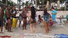 Plajda Güzel Rus Bayandan Fena Dans