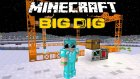 Minecraft: Big Dig #16 - AY'DA KAZI ÇALIŞMASI!