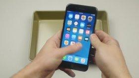 iPhone 7'nin Üzerine Böcek ve Eritilmiş Alüminyumun Dökülmesi