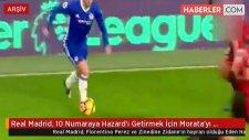 Real Madrid, 10 Numaraya Hazard'ı Getirmek İçin Morata'yı Gözden Çıkardı