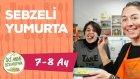 Bebekler İçin Kahvaltı - Sebzeli Yumurta (7-8 Ay) | İki Anne Bir Mutfak